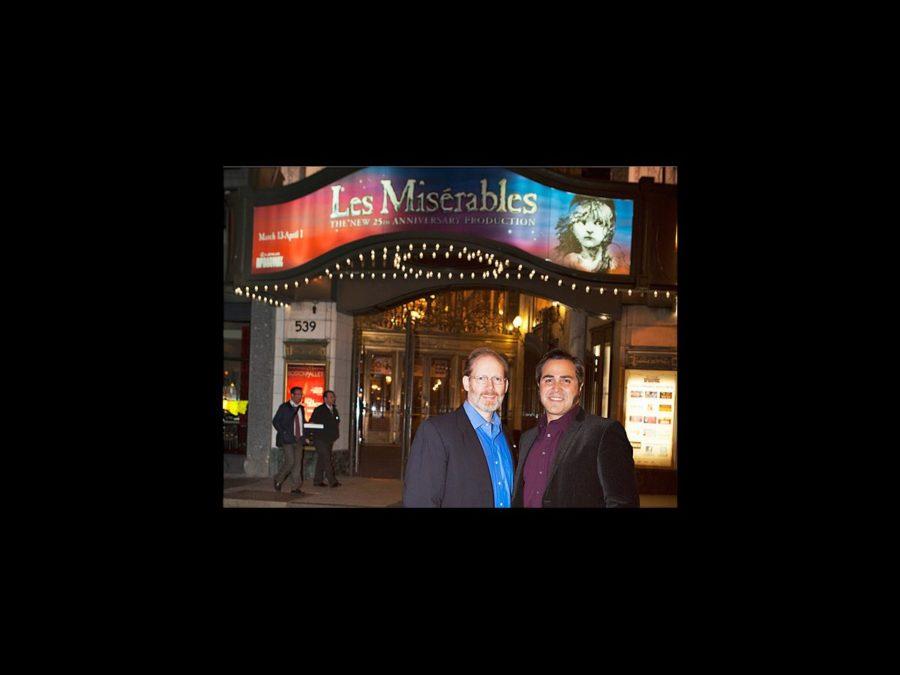 Hot Shot - Les Miserables - tour - J. Mark McVey - Andrew Varela - Boston opening - 3/12