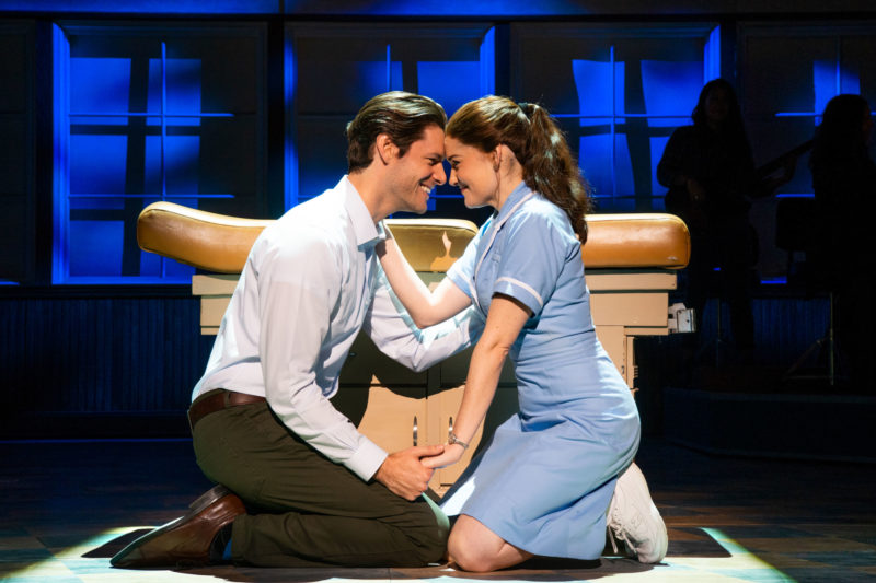 Steven Good and Christine Dwyer in the National Tour of WAITRESS Credit Philicia Endelman DSC_1105