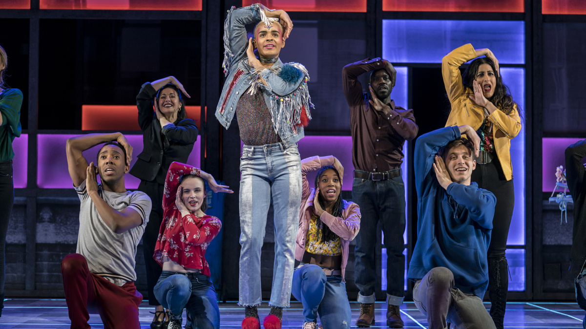 PS - London - Everybody's Talking About Jamie - Layton Williams - company - photo credit Johan Perrson - 3/19