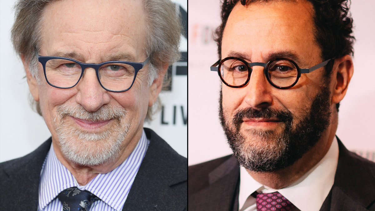 Steven Spielberg - Tony Kushner - 3/21 - Getty Images - Emilio Madrid