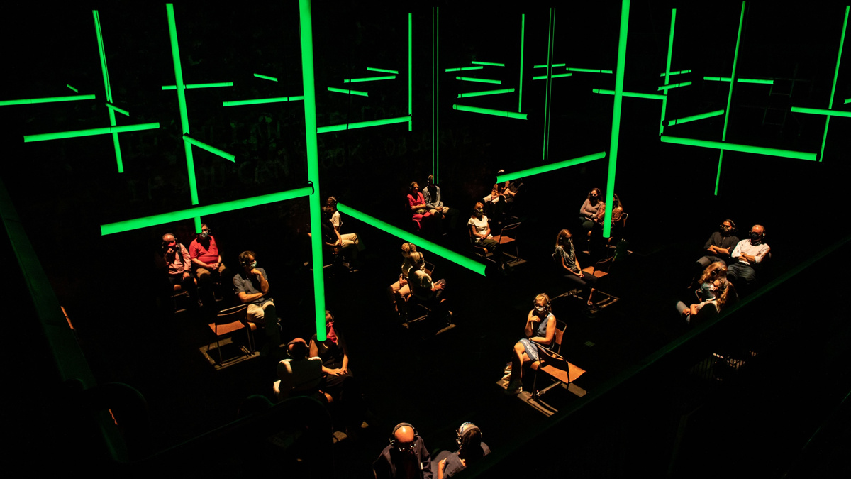 Blindness at the Donmar Warehouse - 8/20 - Helen Maybanks